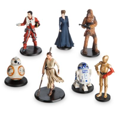 Star Wars Die-Cast Figures, Set of 7
