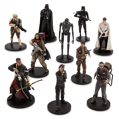 Rogue One: A Star Wars Story, deluxe-set med figurer