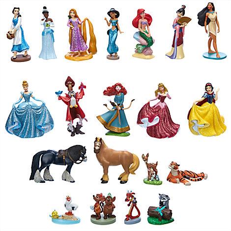 Megaset figuritas princesa Disney