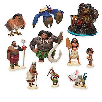 Moana Figurine Playset