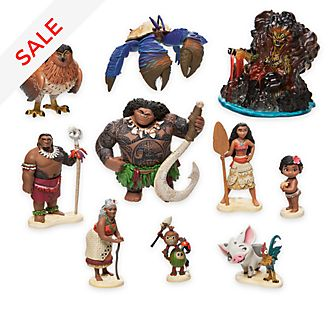 Moana Figurine Playset