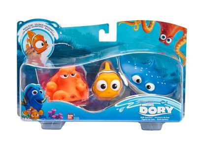 Nemo, Hank and Mr Ray Bath Toys, Finding Dory