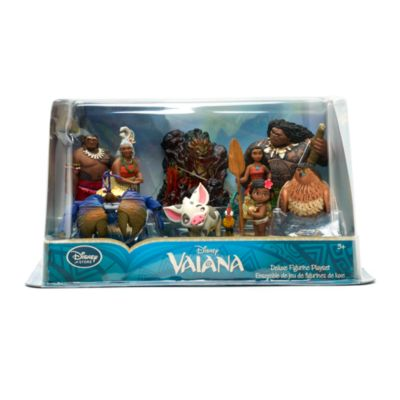 Ensemble de figurines de luxe Vaiana
