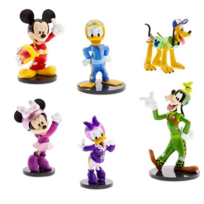 Mickey Mouse Roadster Racers Figurine Set