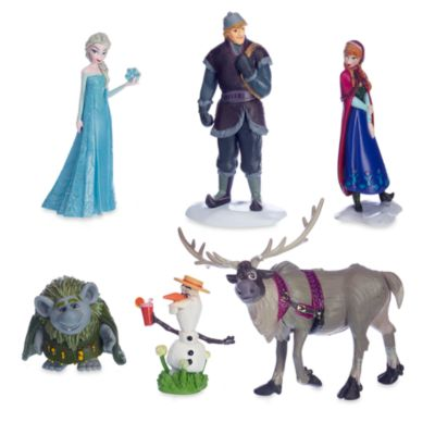 Ensemble de figurines La Reine des Neiges