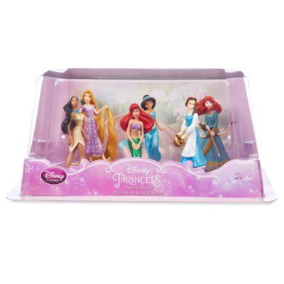 Set de figuritas princesas Disney (trajes de acción)