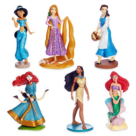Disney Prinsesse-aktivitetssæt med figurer