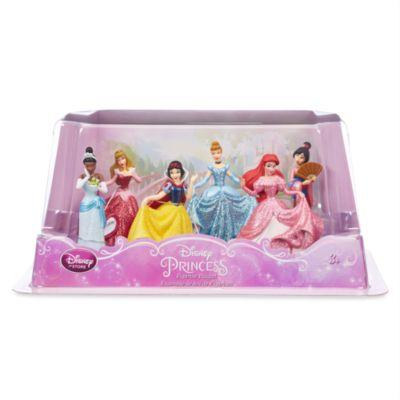 Set de figuritas princesas Disney (trajes de fiesta)