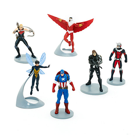 Ensemble de figurines Captain America
