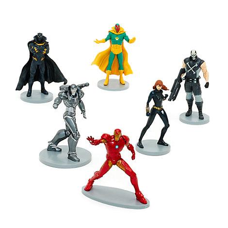 Iron Man Figurine Set