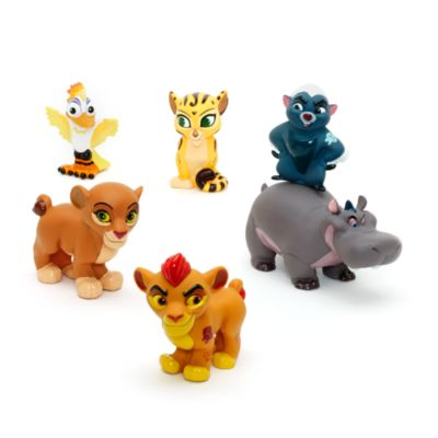 The Lion Guard Bath Toy Set