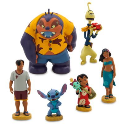 Set personaggi Lilo e Stitch