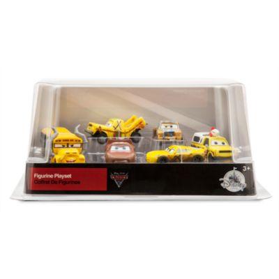 disney pixar cars 3 crazy 8s figurine set. Black Bedroom Furniture Sets. Home Design Ideas