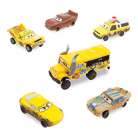 Disney Pixar Cars 3 Crazy 8s Figurine Set