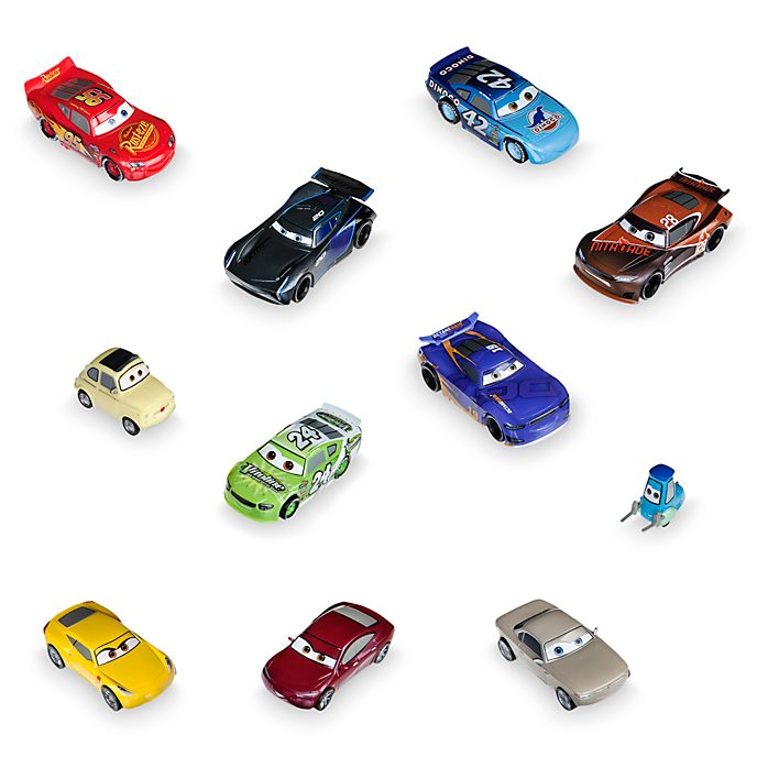 Disney Store Ensemble de figurines de luxe, Disney Pixar Cars3
