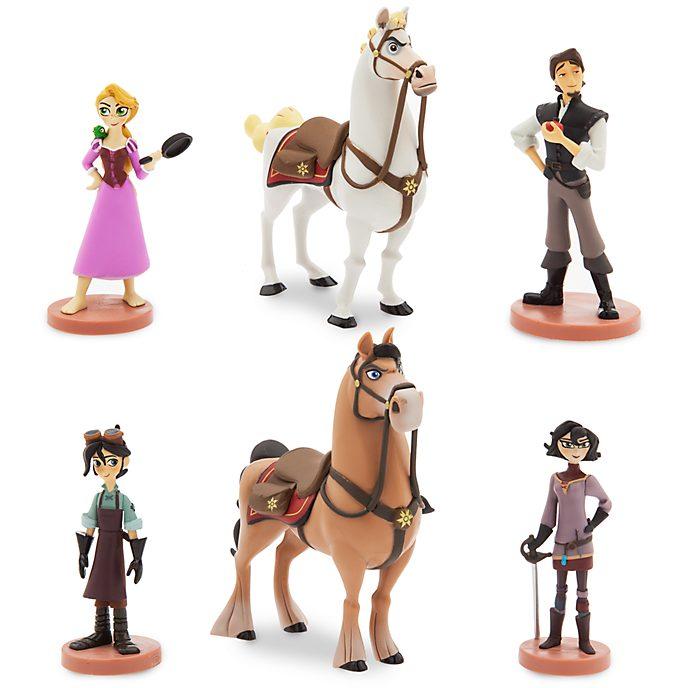 Ensemble de figurines Raiponce: La Série