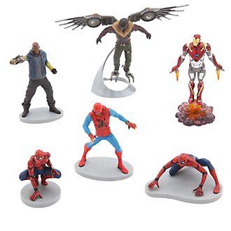 Set de figuras de Spider-Man, Disney Store