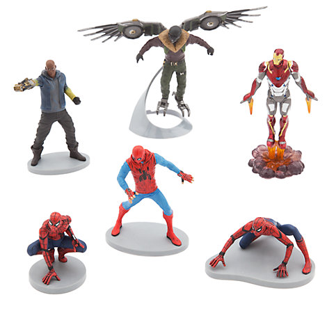 Set de figuras de Spider-Man