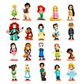 Disney Animators Collection - Deluxe-Figuren, 20er-Set