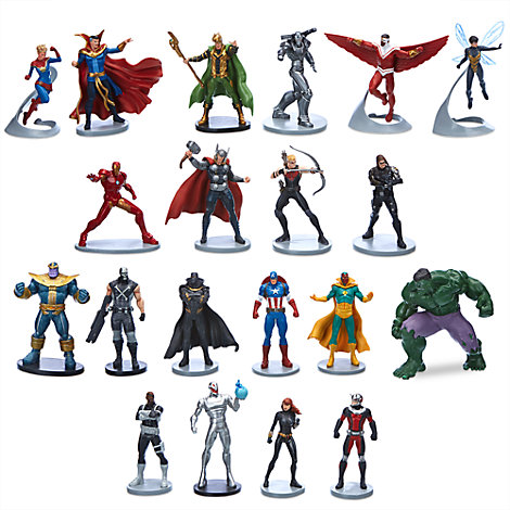 Marvel Avengers megastort figurset