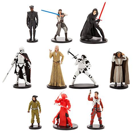 Ensemble de figurines de luxe Star Wars: Les Derniers Jedi