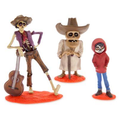 Disney Pixar Coco luksus figurer, sæt med 9 stk.