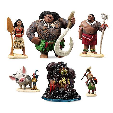 Set de juego figuritas Vaiana