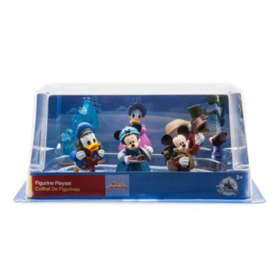 Set juego figuritas Una Navidad con Mickey