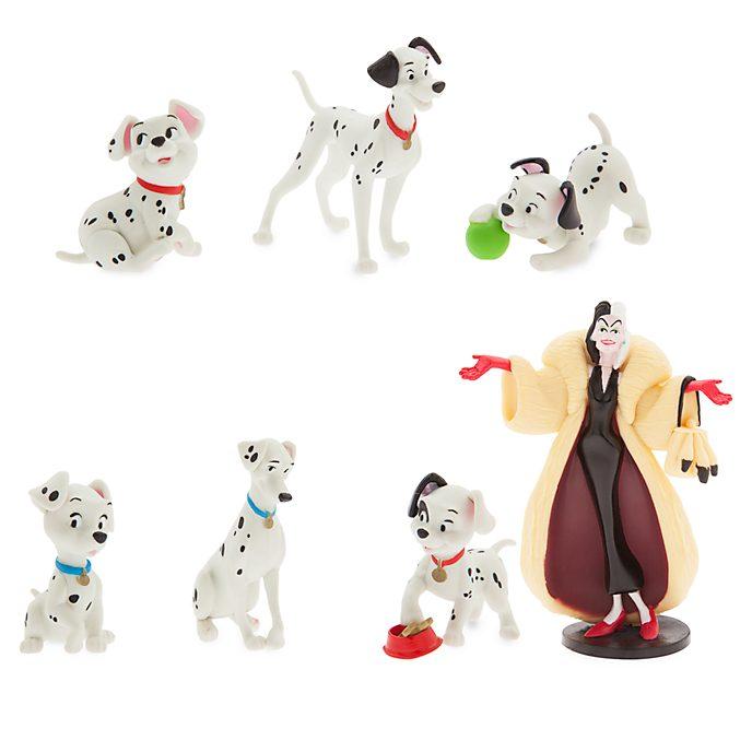 Set juego figuritas 101 Dálmatas