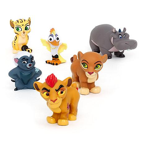 Juguetes baño La guardia del León