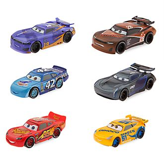 Set de juego de figuras de Disney Pixar Cars3