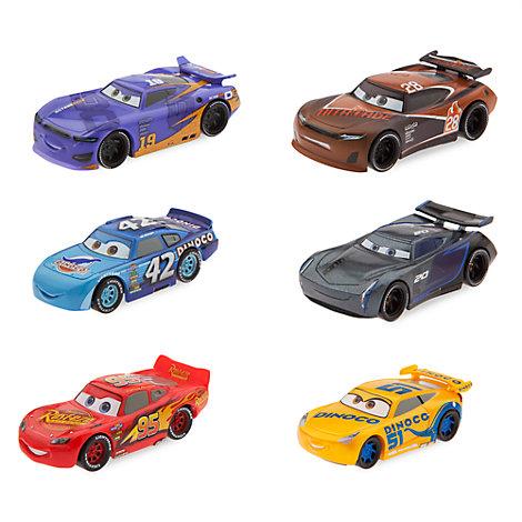disney pixar cars 3 figurine play set. Black Bedroom Furniture Sets. Home Design Ideas
