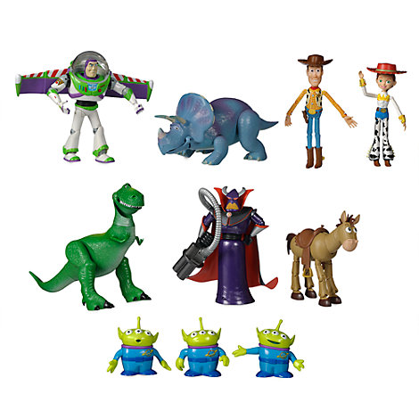 Set idea regalo deluxe action figure Toy Story