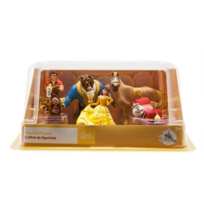 Beauty and the Beast Figurine Play Set