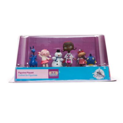 Ensemble de figurines Docteur La Peluche
