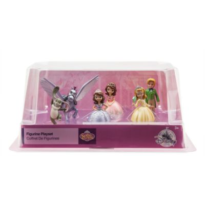 Set de figuritas de la Princesa Sofía