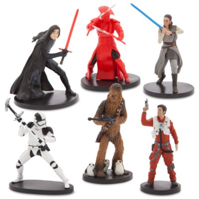 Set juego figuritas Star Wars: Los Últimos Jedi