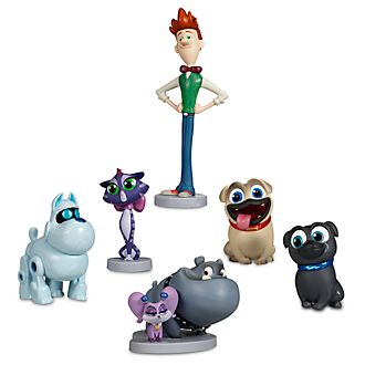 Set juego figuritas Bingo y Rolly, Disney Store