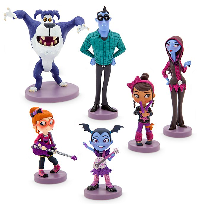 Disney Store Vampirina Figurine Playset