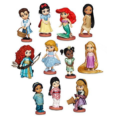 Ensemble de figurines de luxe, collection Disney Animators