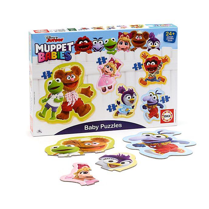 Educa - Muppet Babies - Babypuzzles - Set mit 5 Puzzles