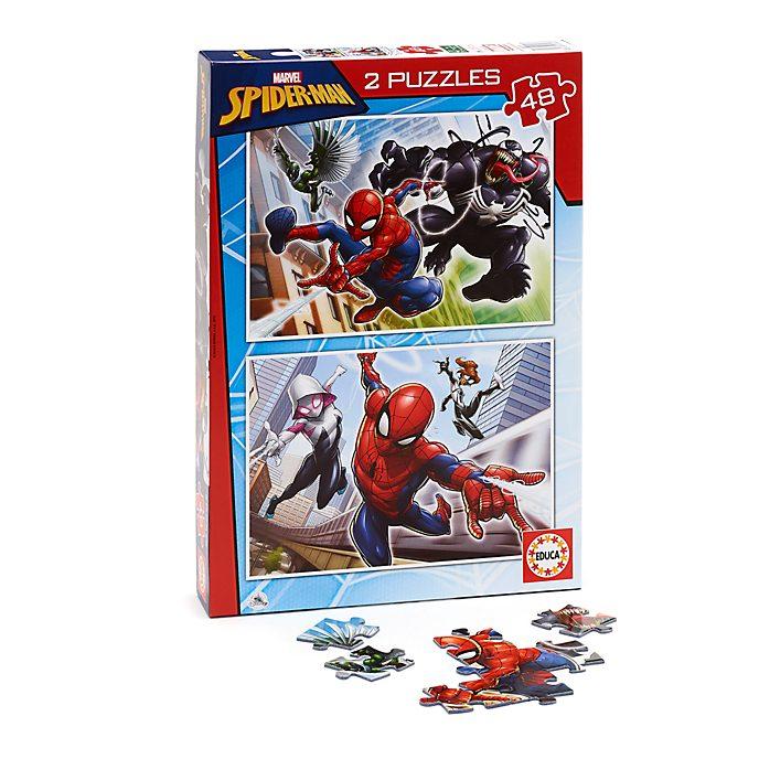 Educa - Spider-Man - Set mit 2 Puzzles