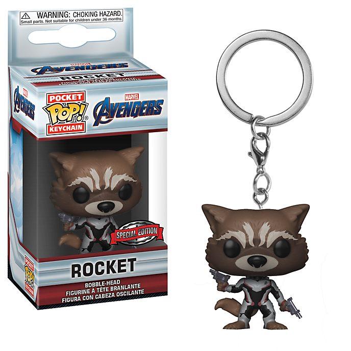 Llavero vinilo Pop! Rocket, Vengadores: Endgame, Funko