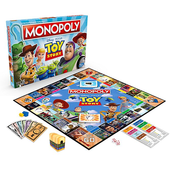 Hasbro Toy Story Monopoly