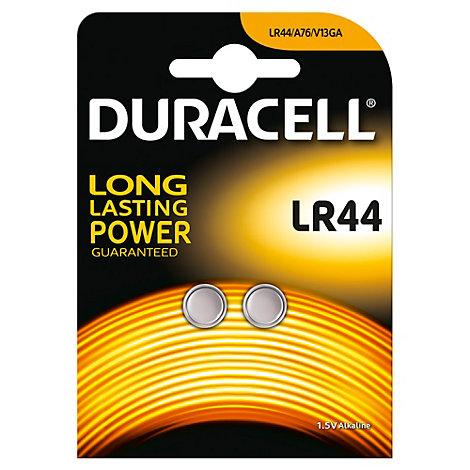 Batterie alcaline a bottone LR44 Duracell Specialty, confezione da 2