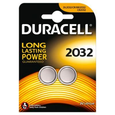 Batterie a bottone al litio 2032 Duracell Specialty, confezione da 2