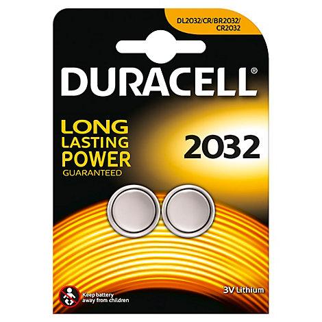 Piles bouton au lithium Duracell Specialty 2032, Lot de 2