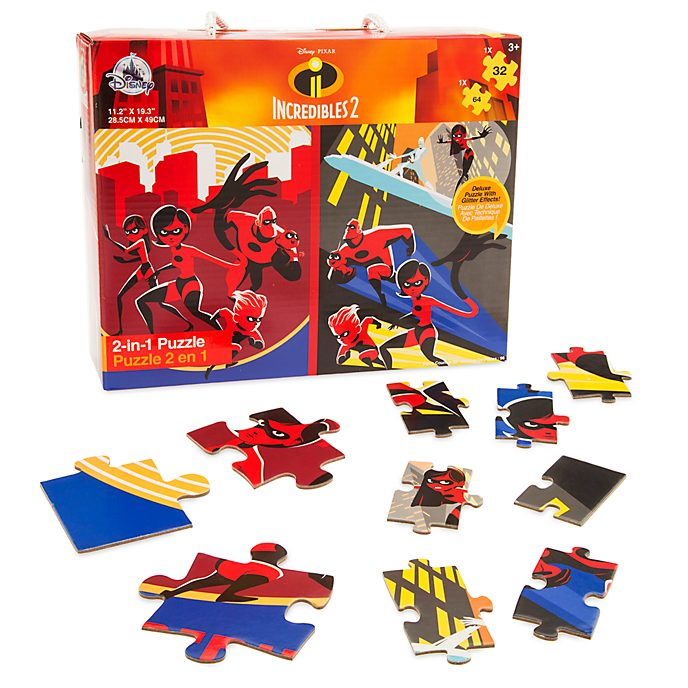 Duo de puzzles 2-en-1, Les Indestructibles 2
