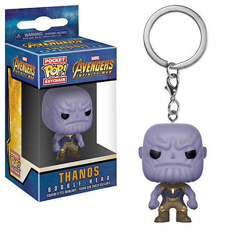 Llavero con figura Pop! de vinilo Thanos de Funko