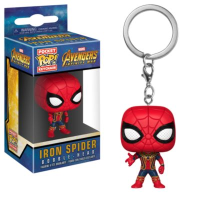 Iron Spider Pop! Vinyl Figure Keyring by Funko
